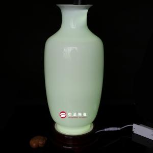 冬瓜瓶——中圣青玉骨瓷瓶